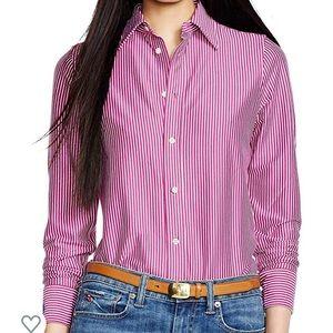 NWT Polo Ralph Lauren Women's Knit Dress Shirt S